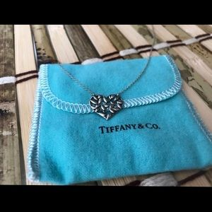 Tiffany & Co. Heart Olive Branch Necklace